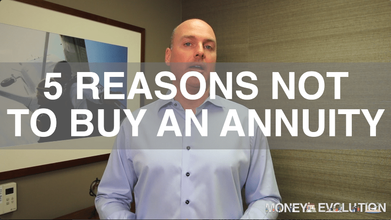 5 Reasons Not To Buy An Annuity